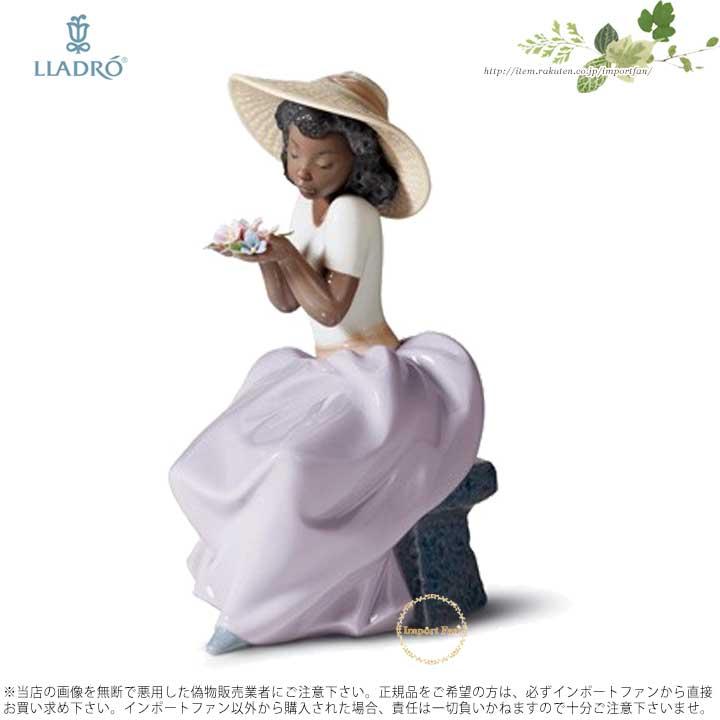 リヤドロ 花の香りをかぐ少女 01006822 LLADRO SWEET FRAGRANCE 【ポイント最大43倍!お買物マラソン】