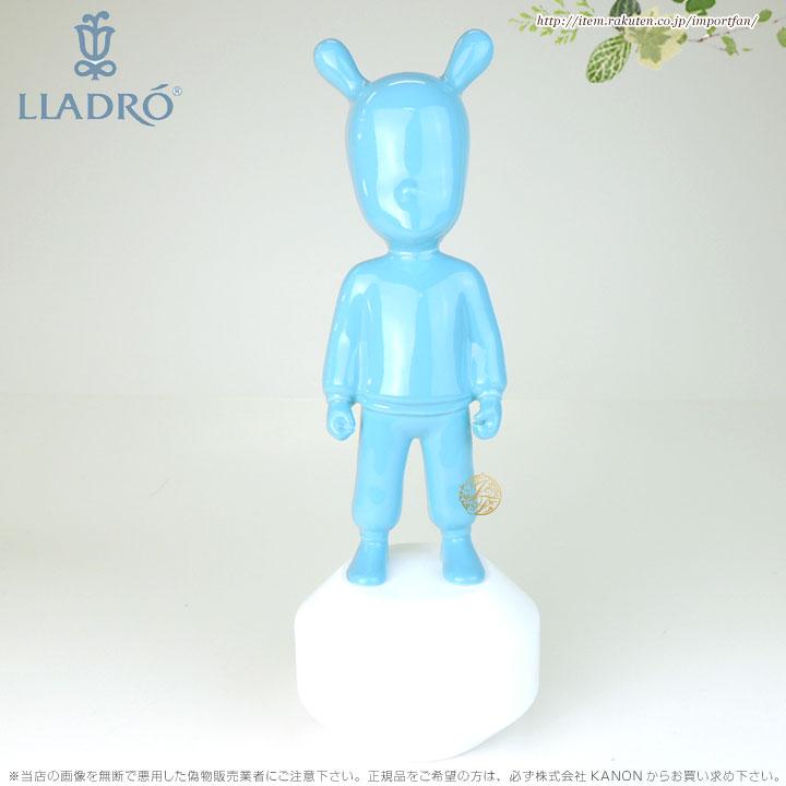 リヤドロ ザゲスト 青 01007736 LLADRO THE BLUE GUEST-LITTLE(Base included) 【ポイント最大43倍!お買物マラソン】