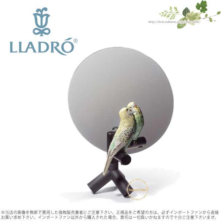 リヤドロ やさしい夢/ミラー 01007849 LLADRO PARROT VANITY 【ポイント最大42倍!お買物マラソン】