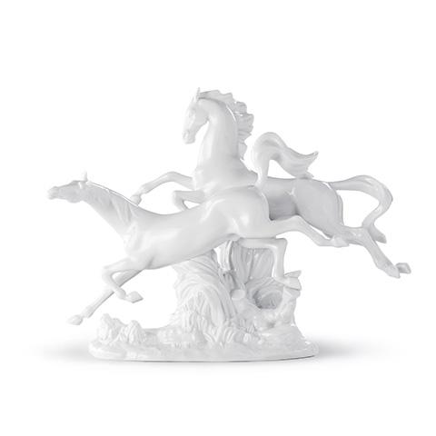 リヤドロ 駆ける馬(White) 01008682 馬 LLADRO 【ポイント最大43倍!お買物マラソン】