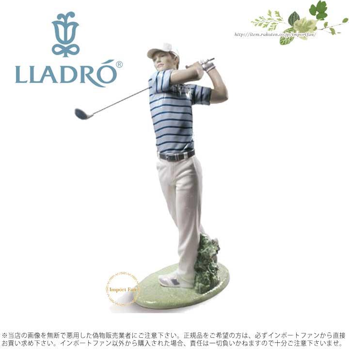 リヤドロ ゴルファー(カラー) 01009228 LLADRO GOLF CHAMPION【ポイント最大43倍!スーパー セール】