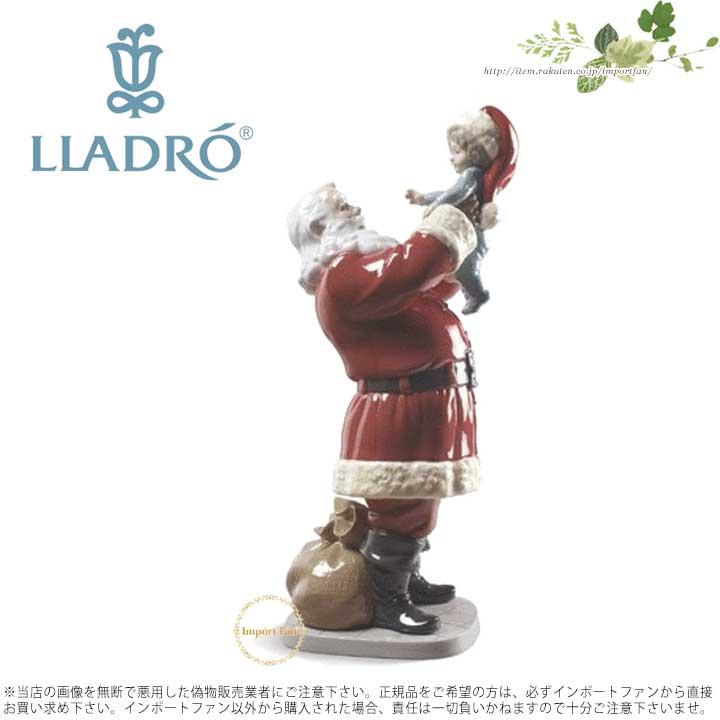 01009254 LLADRO メリークリスマス リヤドロ SANTA! MERRY CHRISTMAS 【ポイント最大43倍!お買物マラソン】 サンタさん!