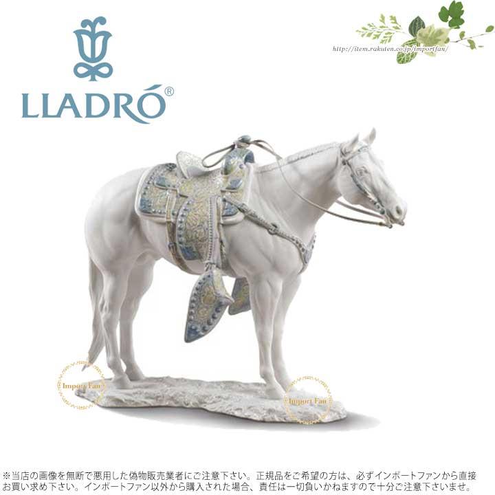 リヤドロ クォーター・ホース(White) 馬 01009273 LLADRO WHITE QUARTER HORSE 【ポイント最大42倍!お買物マラソン】