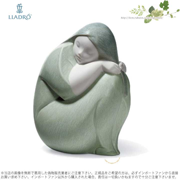 リヤドロ 眠っている少女の像 01018048 LLADRO MOON GIRL □