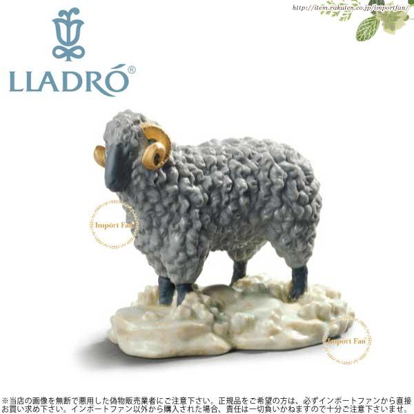 リヤドロ 羊 ひつじ ホワイトボックス 01045145 LLADRO THE SHEEP WHITE BOX□