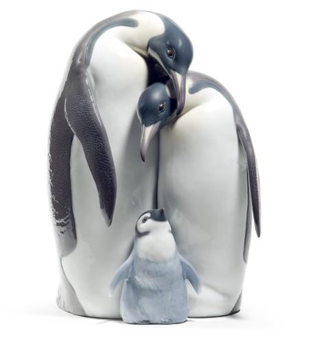 リヤドロ ペンギンの親子 家族 08696 LLADRO PENGUIN FAMILY 【ポイント最大42倍!お買物マラソン】
