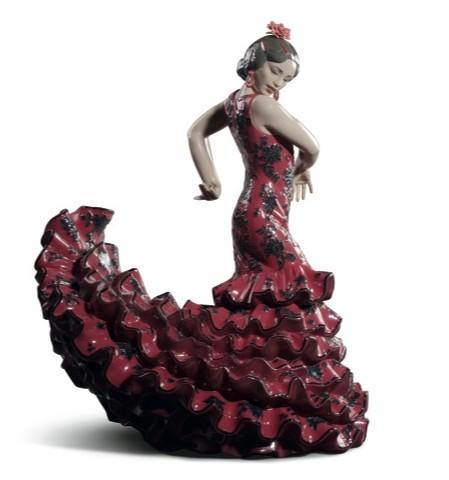 リヤドロ フラメンコの炎 レッド 女性 01008765 LLADRO FLAMENCO FLARE RED 【ポイント最大43倍!お買物マラソン】