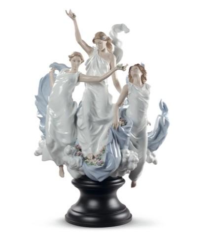 リヤドロ 春の祭典 女性 01008773 LLADRO CELEBRATION OF SPRING□