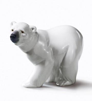 リヤドロ 白クマ ATTENTIVE POLAR BEAR 01001207 LLADRO 日本未発売 【ポイント最大43倍!お買物マラソン】