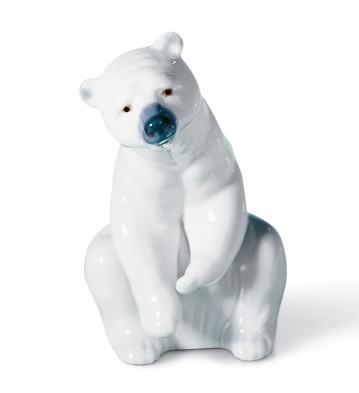リヤドロ 白クマ RESTING POLAR BEAR 01001208 LLADRO 日本未発売 【ポイント最大43倍!お買物マラソン】