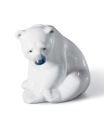 リヤドロ 白クマ SEATED POLAR BEAR 01001209 LLADRO 日本未発売 【ポイント最大43倍!お買物マラソン】