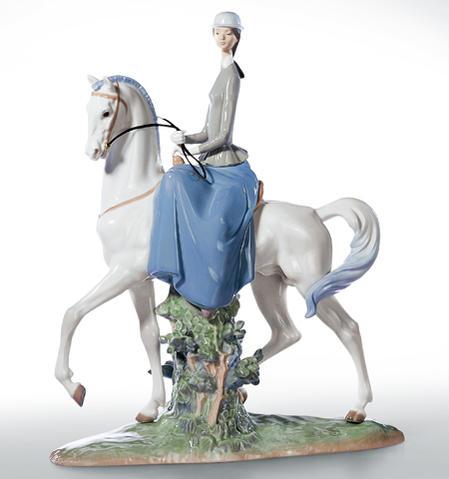 リヤドロ 白い馬の少女 01004516 LLADRO 【ポイント最大43倍!お買物マラソン】