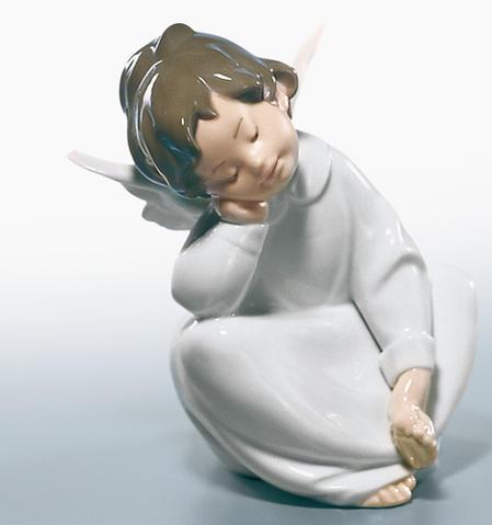 リヤドロ 天使の考えごと なんとかなるよ  01004961 LLADRO 【ポイント最大43倍!お買物マラソン】