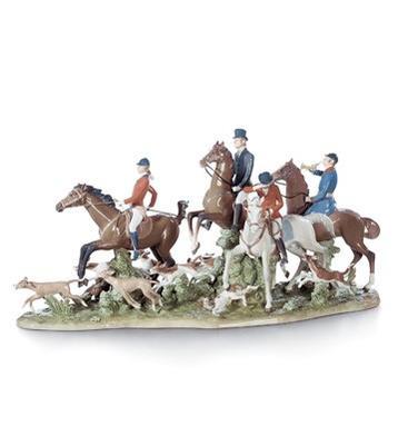 リヤドロ 狩り 馬 イヌ FOX HUNT 01005362 日本未発売 限定制作数: 1,000 【ポイント最大43倍!お買物マラソン】
