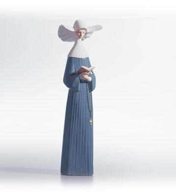リヤドロ 修道女(ブルー) PRAYERFUL MOMENT 01005500 LLADRO 【ポイント最大43倍!お買物マラソン】