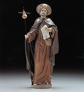 リヤドロ 聖ヤコブ Saint James the Pilgrim 01006084 LLADRO 日本未発売 【ポイント最大42倍!お買物マラソン】