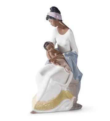 リヤドロ 母の抱擁 A MOTHER'S EMBRACE 01006851 LLADRO お母さん・ファミリー 【ポイント最大43倍!お買物マラソン】