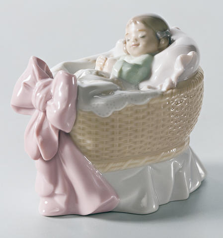 リヤドロ スイートベビー 女の子 01006977 LLADRO 赤ちゃん・出産祝いにも♪ 【ポイント最大42倍!お買物マラソン】