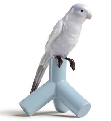 リヤドロ インコ 鳥 PARROT ONE  01007852 LLADRO 日本未発売 【ポイント最大43倍!お買物マラソン】