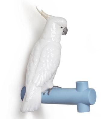 リヤドロ オウム 鳥 PARROT HANG II  01007854 LLADRO 日本未発売 【ポイント最大43倍!お買物マラソン】