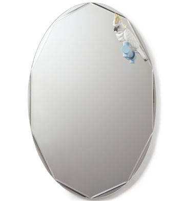 リヤドロ オウム 鏡 ミラー PARROT SHINE II  01007861 LLADRO 日本未発売 【ポイント最大43倍!お買物マラソン】