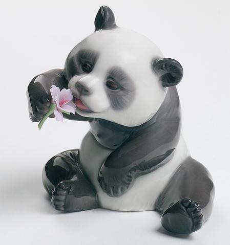 リヤドロ リトル パンダ 3 A Cheerful Panda 01008358 LLADRO 【ポイント最大43倍!お買物マラソン】