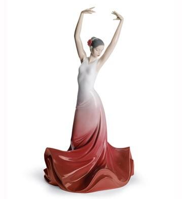 リヤドロ スペイン ダンス HEART OF SPAIN 01008420 LLADRO 日本未発売□