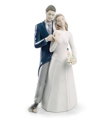リヤドロ 天蓋の下で 01008449 LLADRO ブライダルギフトや結婚祝いに 【ポイント最大43倍!お買物マラソン】