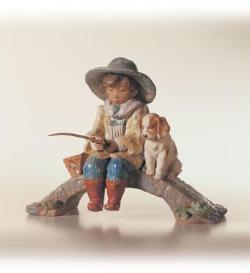 リヤドロ THE OLD FISHING HOLE 01012237 LLADRO 日本未発売 【ポイント最大43倍!お買物マラソン】