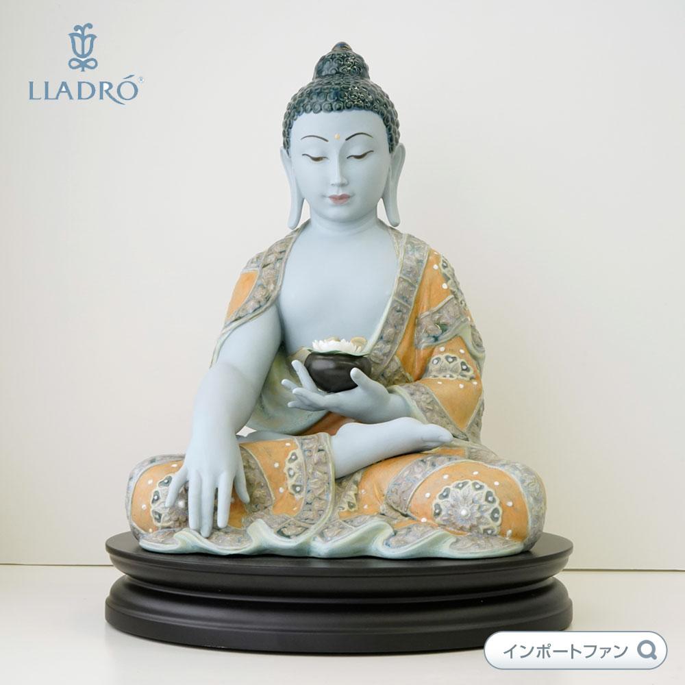 リヤドロ Medicine Buddha 01012515 LLADRO 薬師如来 【ポイント最大43倍!お買物マラソン】