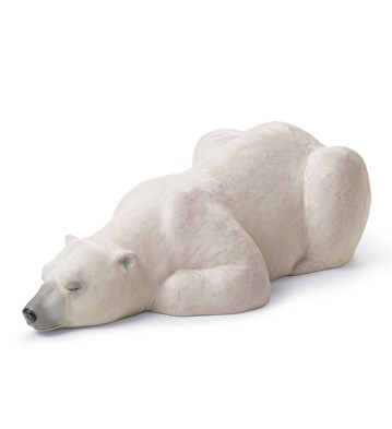 リヤドロ 白クマ SNOW KING 01012518 LLADRO 日本未発売□