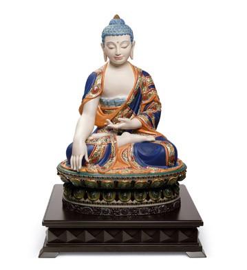 リヤドロ SHAKYAMUNI BUDDHA オレンジ 01012525 LLADRO 仏陀 限定制作数:1,000 【ポイント最大43倍!お買物マラソン】