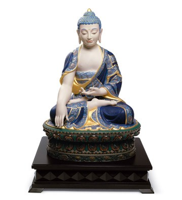 リヤドロ SHAKYAMUNI BUDDHA ゴールド 01012526 LLADRO 仏陀 限定制作数:1,000 【ポイント最大43倍!お買物マラソン】