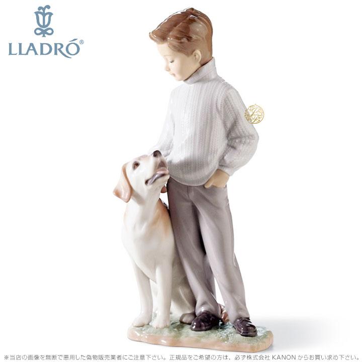 リヤドロ 僕の親友 少年 犬 ラブラドール レトリバー 0106902 LLADRO MY LOYAL FRIEND 【ポイント最大43倍!お買物マラソン】