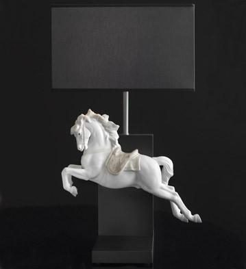 リヤドロ ピルエット ホース 馬 ランプ HORSE ON PIROUETTE - LAMP (CE) 01023060 LLADRO 日本未発売 【ポイント最大43倍!お買物マラソン】