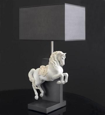 リヤドロ クールベット 馬術 ランプ(CE) 01023064 LLADRO 【ポイント最大43倍!お買物マラソン】