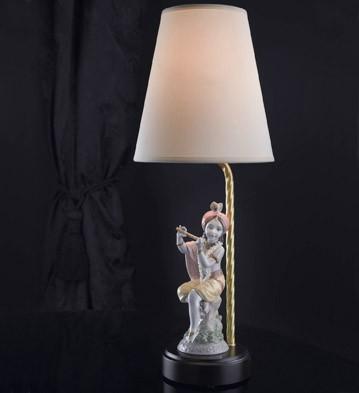 リヤドロ LORD KRISHNA LAMP CE 01023104 LLADRO 日本未発売□