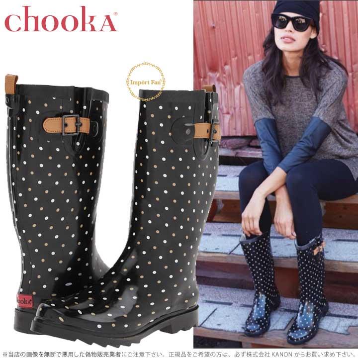 チューカ クラシック ドット 水玉 レインブーツ Chooka Classical Dot Rain Boot 雨具 長靴 ガーデニング アウトドア 【ポイント最大43倍!お買物マラソン】