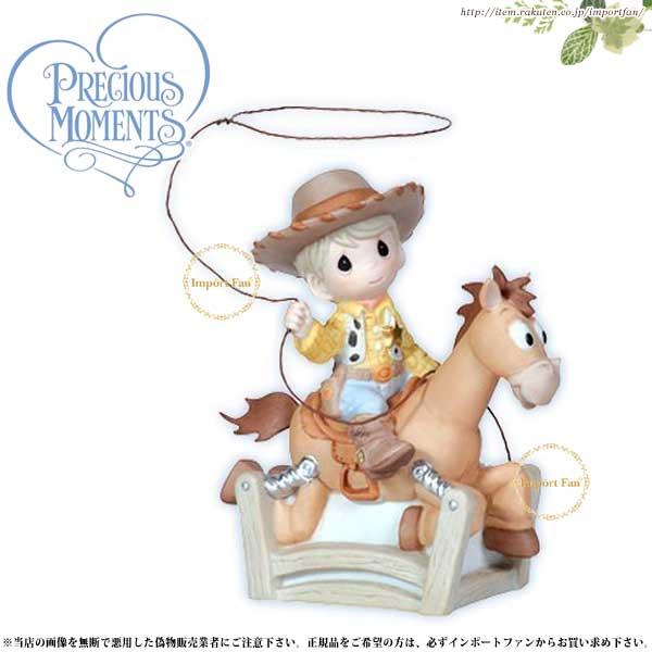プレシャスモーメンツ ウッディ トイ・ストーリー Ride Like The Wind Bullseye 112020 ディズニー Precious Moments 【ポイント最大43倍!お買物マラソン】
