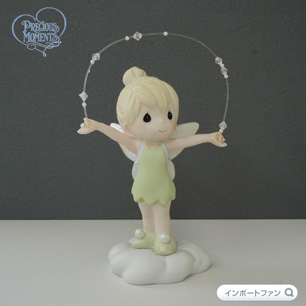 プレシャスモーメンツ ティンカーベル飛ぼう! ピーターパン Let's Fly Away 113026 ディズニー Precious Moments Tinker Bell 【ポイント最大43倍!お買物マラソン】