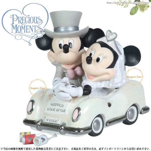 プレシャスモーメンツ ミッキー ミニー ウェディング Happily Ever After 113703 ディズニー Precious Moments Mickey and Minnie 【ポイント最大44倍!お買い物マラソン セール】