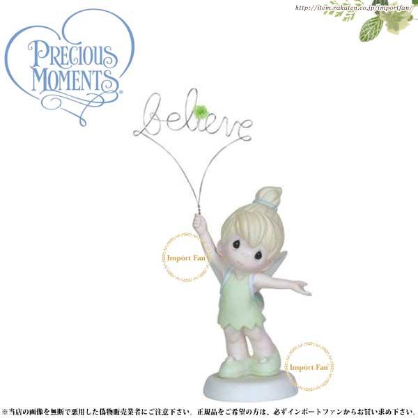 プレシャスモーメンツ ティンカーベル ピーターパン Believe 129004 ディズニー Precious Moments Tinker Bell □