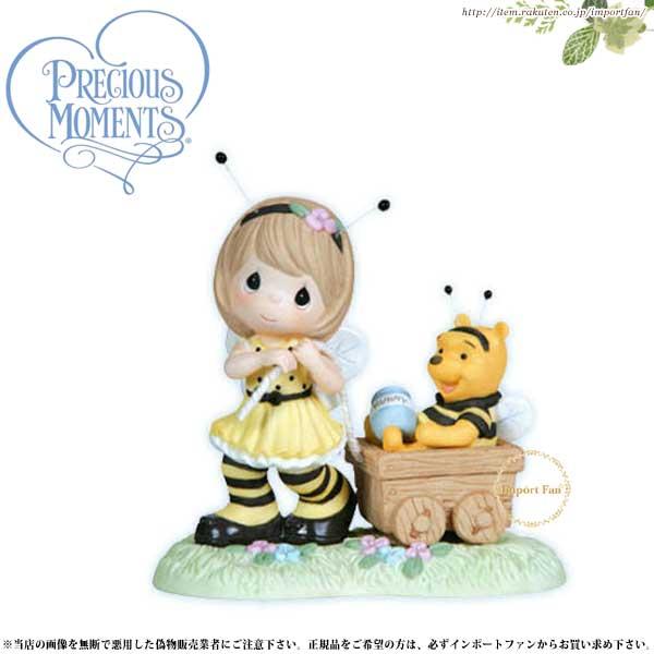 プレシャスモーメンツ くまのプーさん You're As Sweet As Honey 122007 ディズニー Precious Moments Pooh□