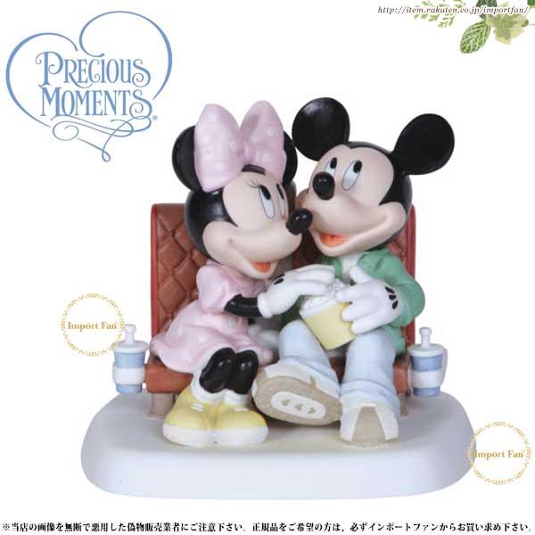 プレシャスモーメンツ ミッキー ミニー 映画 Reel Love Premiere 122701 ディズニー Precious Moments Mickey and Minnie □