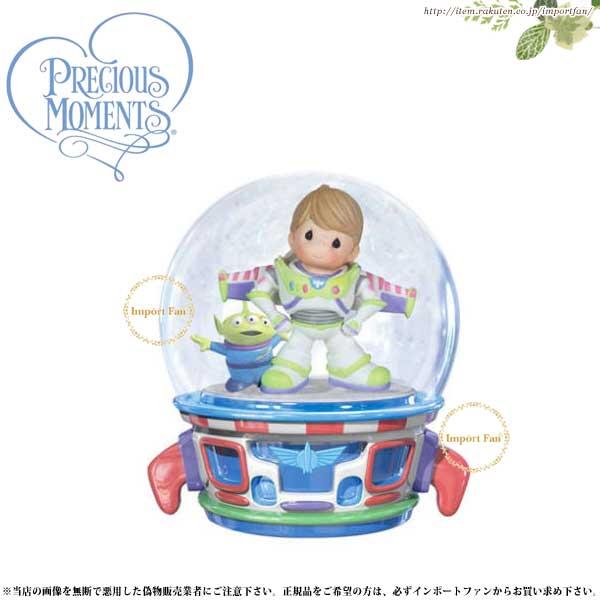 プレシャスモーメンツ バズ ミュージカル スノードーム トイ・ストーリー Buzz Lightyear WaterBall 123103 ディズニー Precious Moments □