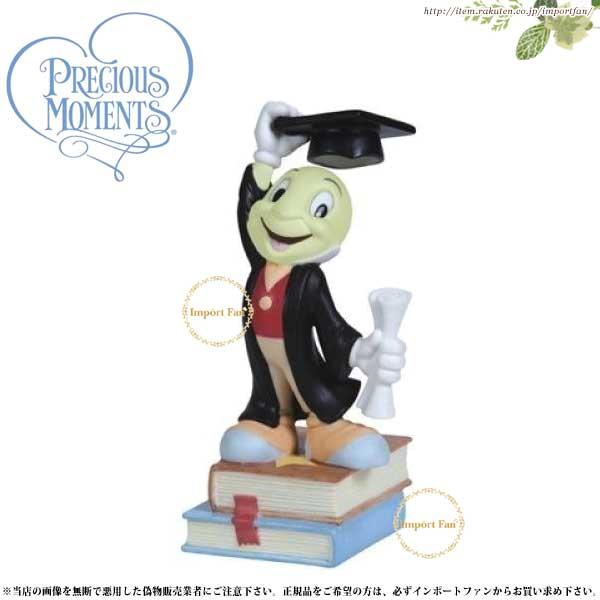 プレシャスモーメンツ ジミニー・クリケット May All Your Dreams Come True 124701 ディズニー ピノキオ Precious Moments 【ポイント最大43倍!お買物マラソン】