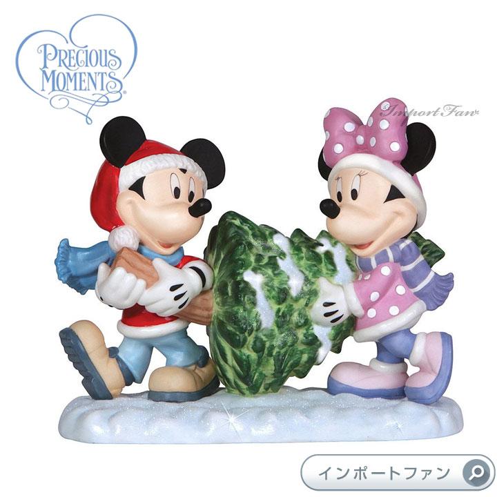 プレシャスモーメンツ ミッキー ミニー クリスマスツリー A Seaon of Joy and Togetherness 131701 ディズニー Precious Moments Mickey and Minnie 【ポイント最大43倍!お買物マラソン】