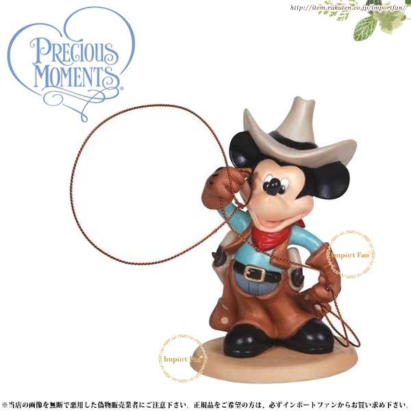 プレシャスモーメンツ ミッキー カウボーイ Cowboy Mickey 132708 ディズニー Precious Moments □