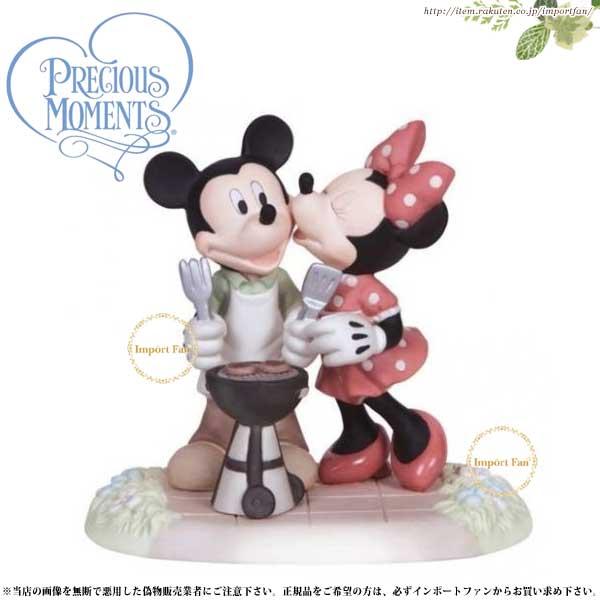 プレシャスモーメンツ ミッキー ミニー Kiss The Cook 133706 ディズニー Precious Moments Mickey and Minnie 【ポイント最大43倍!お買物マラソン】