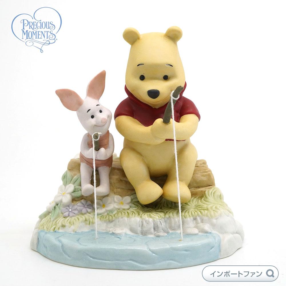 プレシャスモーメンツ ピグレット I Love Catching Up With You 134702 ディズニー くまのプーさん Precious Moments Pooh 【ポイント最大42倍!お買物マラソン】